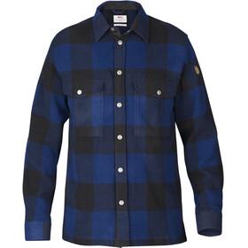 Fjällräven Canada Longsleeve Shirt Men blue